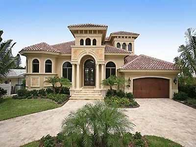 spanish style exterior house colors | Spanish homes designs pictures.