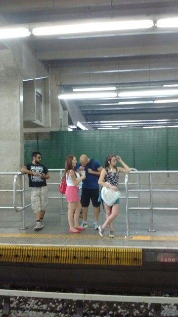 Metro SP Terminal Barra Funda 2015