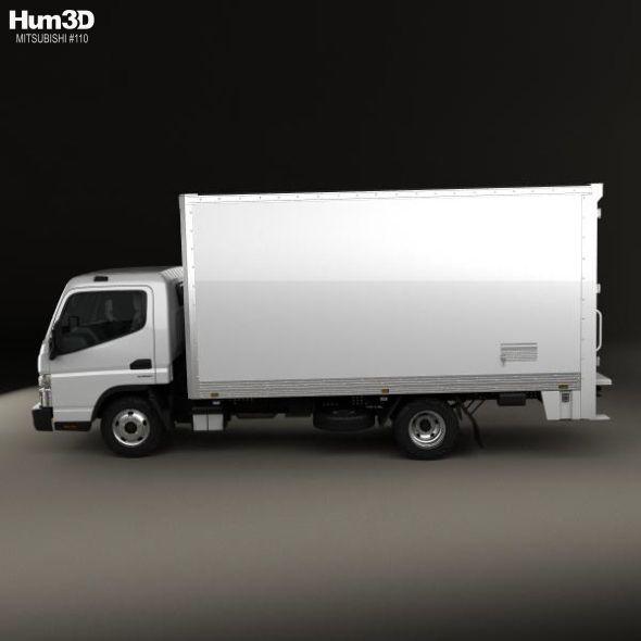 Mitsubishi Fuso Canter 515 Wide Single Cab Pantech Truck 2016 Mitsubishi Canter Trucks