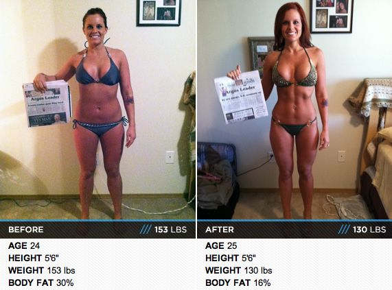 """healthymotives: """" Great transformation, go to http://www.bodybuilding.com/fun/body-transformation-heather-gets-hotter.html to read her story! """""""