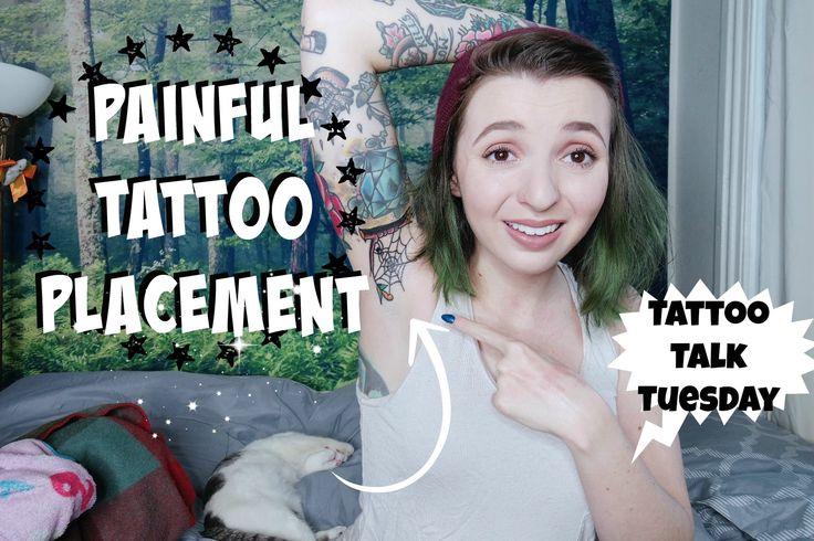 Tattoo Talk Tuesday! Painful Tattoo Placement!