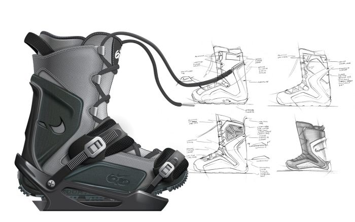Snowboard Boot Concept by James G Lee at Coroflot.com