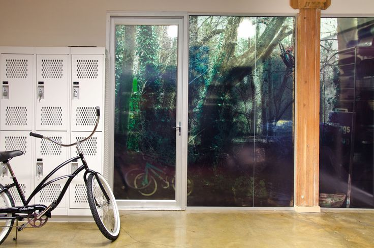 Providing lockers and bike storage encourages people to be active.