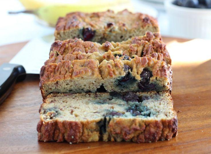 Banana Blueberry Bread - Grain free, Paleo, Nut Free