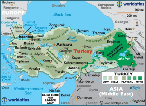 an overview of the asian country of turkey The first report was published in may 2015 the present update entails significant changes and revisions from the first version of the turkey country report published in.