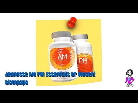 Jeunesse AM PM Essentials with Dr Vincent Giampapa