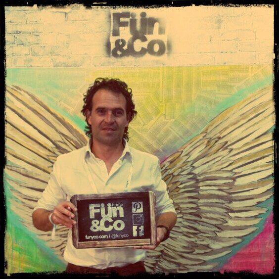 El ARTE QUE TE DA CONVICCIÓN.  Eres realmente FUN&Co. @claudiaangelarte  #colombiamoda #arte #historias #alado @ficogutierrez_