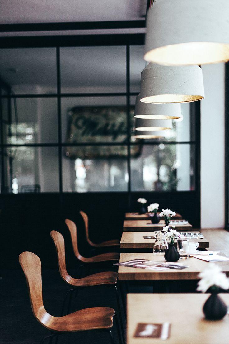 interior of mahlefitz café, munich, germany | foodie travel + coffee bar