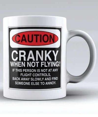 Aviation Humor Mug Gifts For Pilots Boyfriend