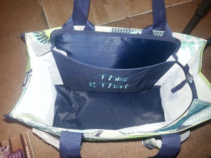 Snap your Oh-Snap Pocket inside the Zip-Top Organizing Utility Tote for extra storage! -Amy R