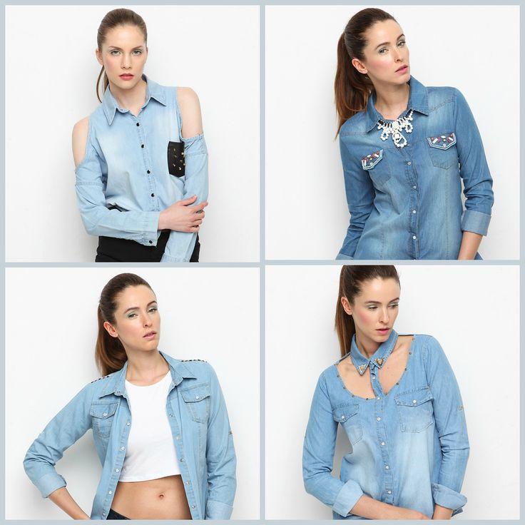 Bu senenin trendi jean gömlekler, en favori modelleriyle Mavi Yaz kampanyasında! Göz atmadan geçmeyin :) #markafoni #jeans #bluejeans #kot #fashion #instafashion #blue #summer #style #stylish #accessories #bestoftheday #photoshoot #girl #model #design #designer
