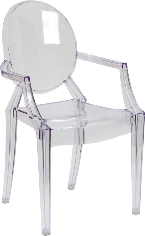 Ghost Chair w Arms in Transparent Crystal130 best Office Chair images on Pinterest   Office chairs  . See Through Office Chairs. Home Design Ideas