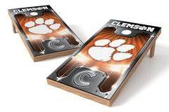 Clemson Tigers Single Cornhole Board - Plate