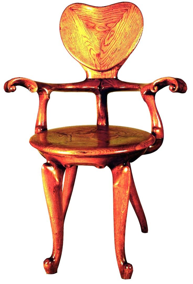 Casa-Calvet-Barcelona-Wooden-Chair