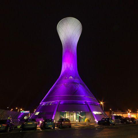 the control tower, edinburgh airport