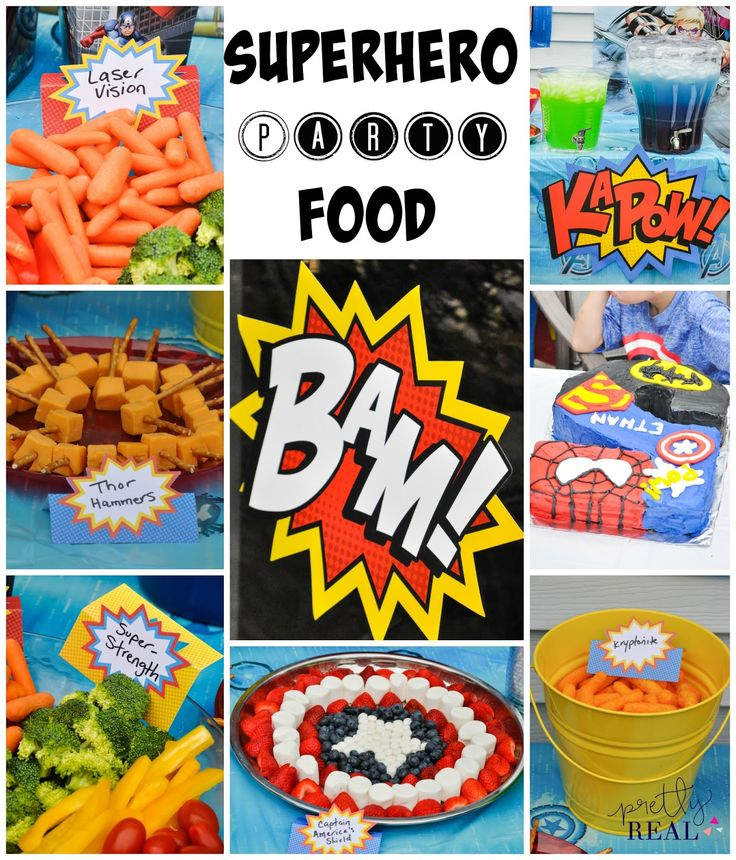 Super Bowl Party Decorations Uk: The 25+ Best Superhero Party Food Ideas On Pinterest