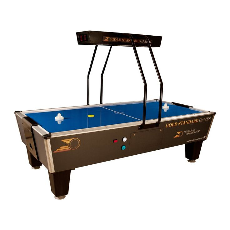 Gold Standard Games 8 ft. Tournament Pro Elite Air Hockey Table - 8HGS-W01-OHS