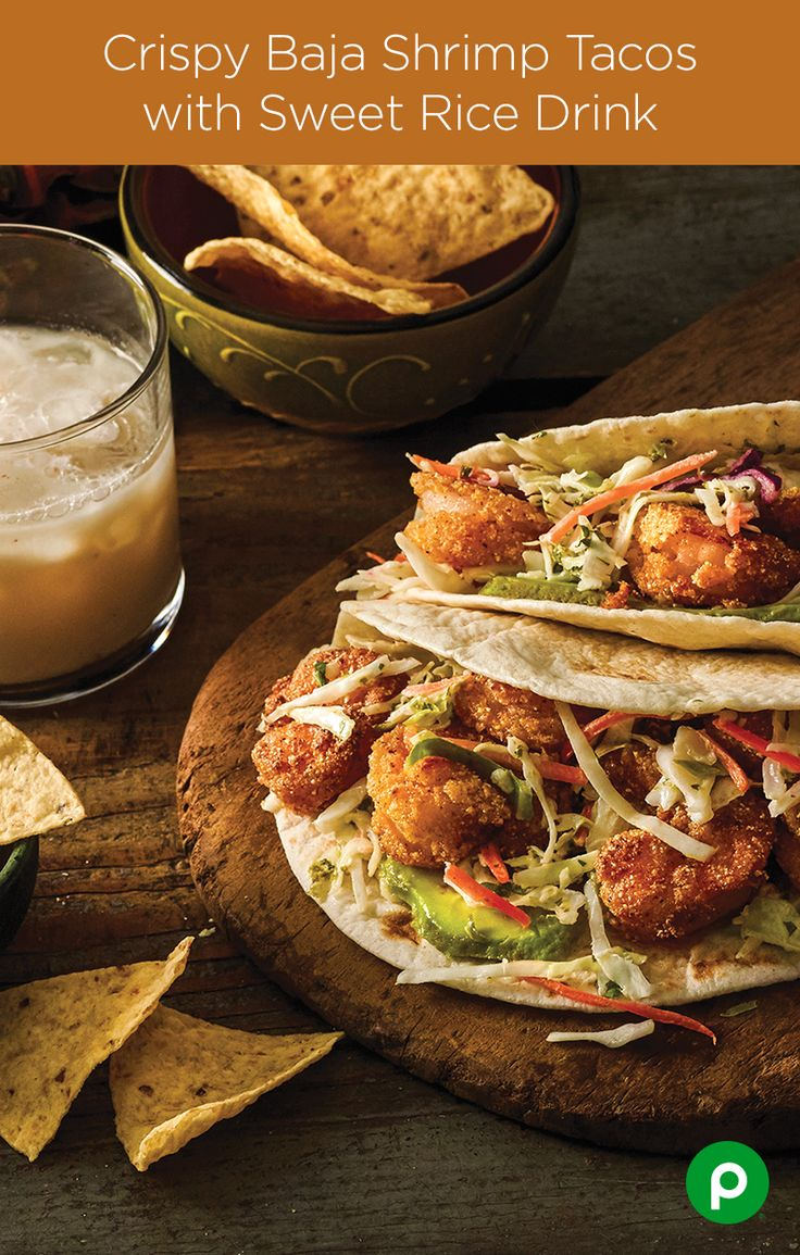 The Baja Shrimp may not know who let the dogs out but they do know that finely chopped cilantro, avocado and peeled shrimp will have your party guests begging for more Crispy Baja Shrimp Tacos. Happy Cinco de Mayo from Publix Aprons Simple Meals.