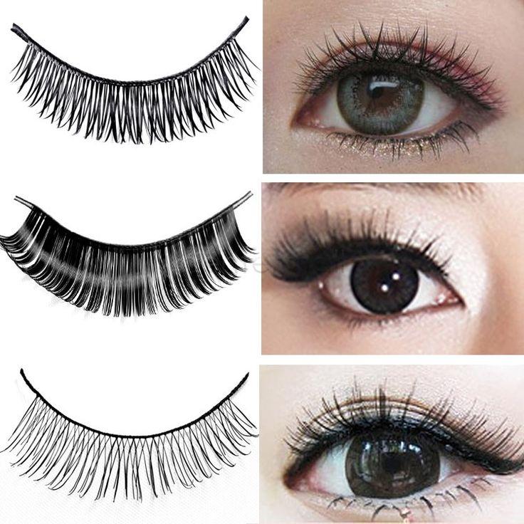 most natural looking false eyelashes