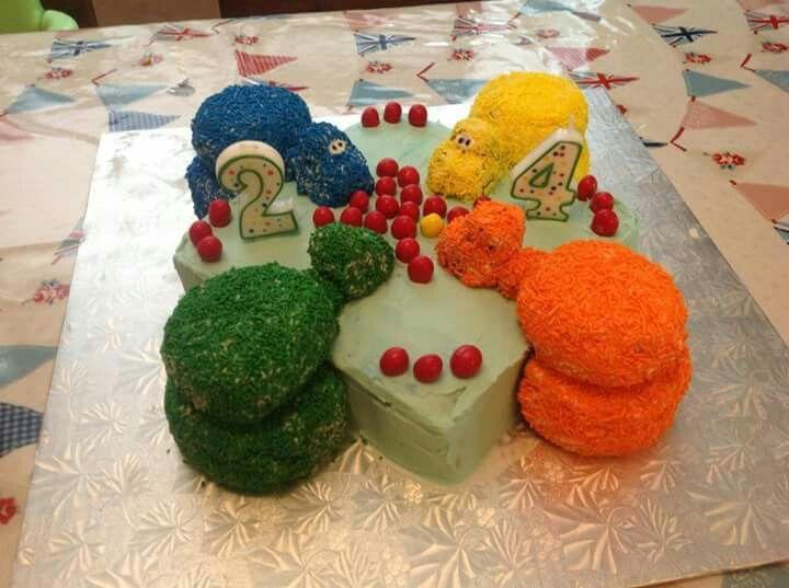 Hungry Hippos Cake