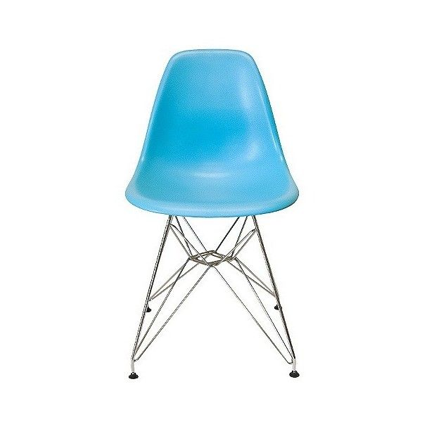 Dining Chair Set Aeon Paris Molded Plastic Chair Blue IDR Like