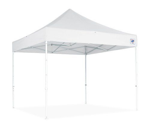 E-Z UP Eclipse II 8 by 8 Instant Shelter with Steel Frame, White by E-Z UP. $571.16. ACCESSORIES: Roller Bags, Sidewalls, Railskirts.. High Strength Steel Frame. Available in Red, White or Blue. Professional Feature Package. ACCESSORIES: Roller Bags, Sidewalls, Railskirts. DEAL FOR:  Corporate Events, Rental Industry, Business and Civic Events, Trade Shows, Sporting Events, Commercial Use, Racing, Exhibit Booths, Party Rentals. The Eclipse II  by E-Z UP  The Eclipse II...