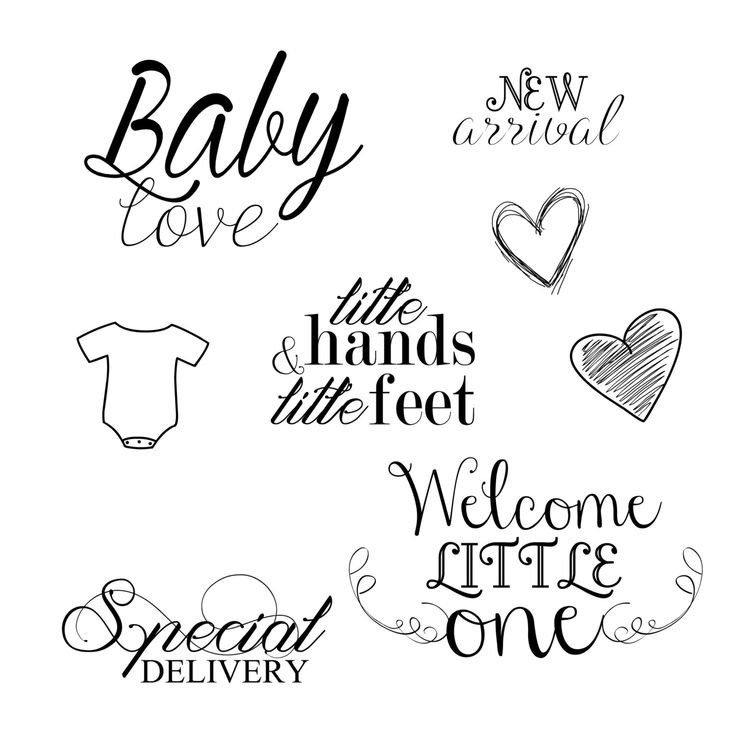 INSTANT DOWNLOAD Newborn Baby Word Art Overlays for Photography, Digital Scrapbooking, Card Making, Printing and Much More! by RachelTatumCreations on Etsy https://www.etsy.com/uk/listing/201433343/instant-download-newborn-baby-word-art