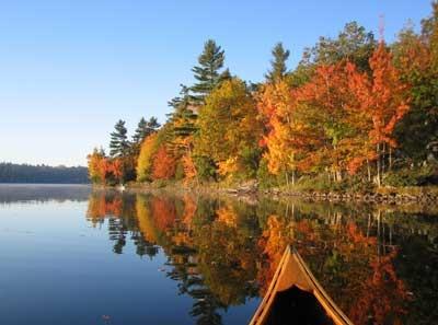 Fall Colours, Haliburton Highlands, Ontario Canada