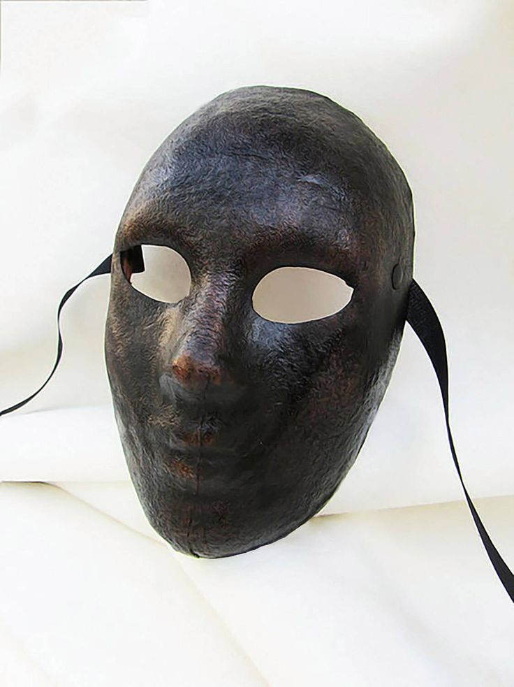 neutral mask androgynous dark leather costume cosplay larp renaissance wicca pagan magic burning man fantasy commedia arte comedy theater by MaschereFabula on Etsy https://www.etsy.com/listing/515868625/neutral-mask-androgynous-dark-leather