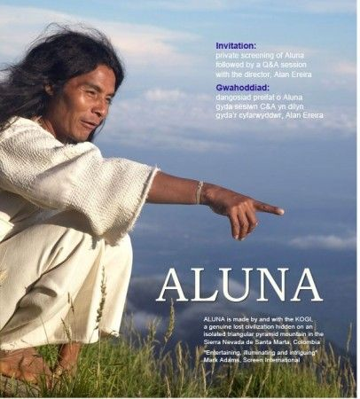 "Carolyn interviews Alan Ereira, Director of the movie, ""Aluna,"" the story of the Kogi people in Columbia who have an urgent message for the non-indigenous world."