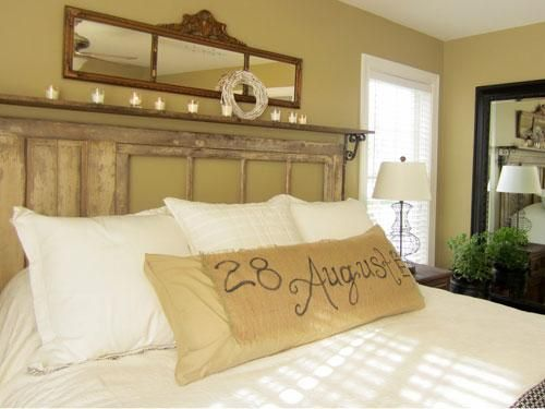 Vintage Rustic Bedroom Ideas body pillow | 10 diy decorating ideas for the most romantic