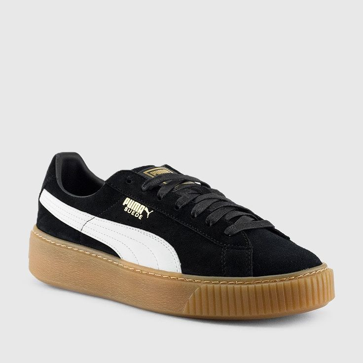Get a step-up on the competetion with the new Suede Platform Core from Puma.  Not many sneakers can be as classic as the Puma Suede Classic.
