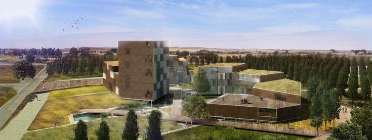Diseñado por Herreros Arquitectos en Zamora,Spain Como les contamosanteriormente, la Sociedad Pública de Medio Ambiente de Castilla y León ha seleccionado los dos pr...
