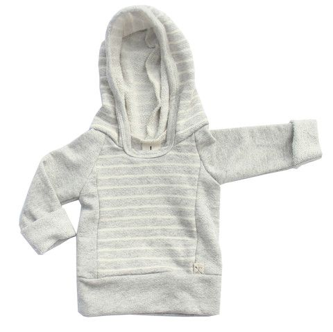 this babytoddler hoodie raglan hoodie is just as good for cool fall days as it is on the shore sleeves that roll at the wrist and front seaming to