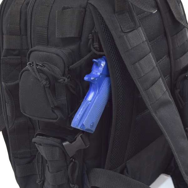 BRAZOS CONCEALED CARRY BACKPACK | Flying Circle | The ultimate tactical backpack for military, concealed carry, and recreational use!