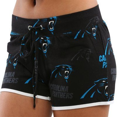 Carolina Panthers Ladies Black Insider Shorts