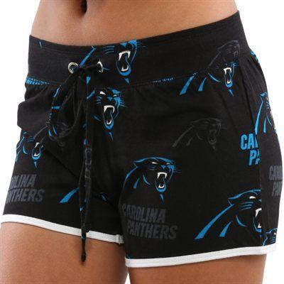 Carolina Panthers Ladies Black Insider Shorts