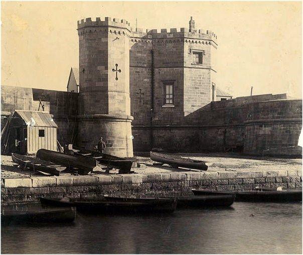 Fort Macquarie 1870.