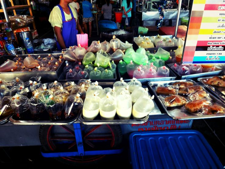 Thirsty?? Juice for take away.. Thailand