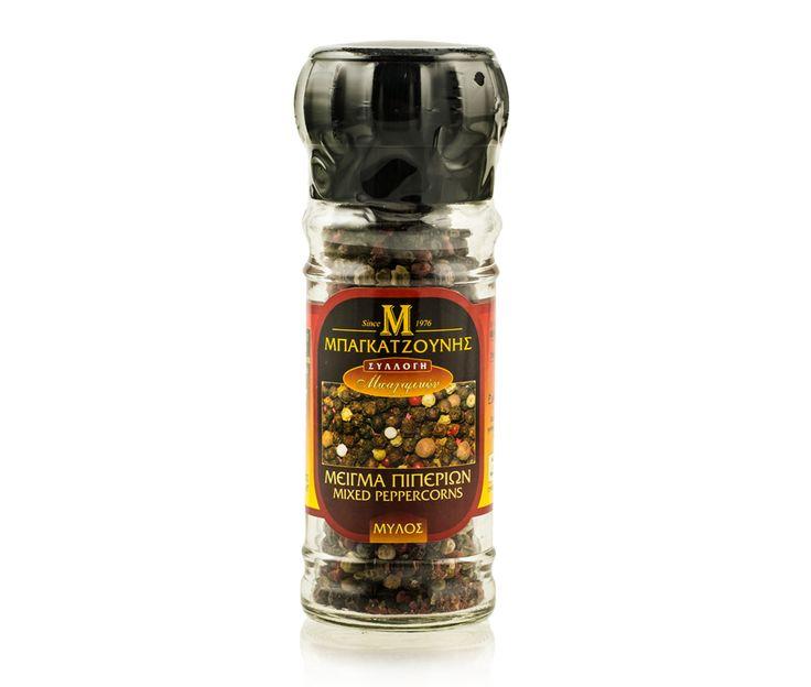 Mixed peppercorns. www.deliinabox.gr