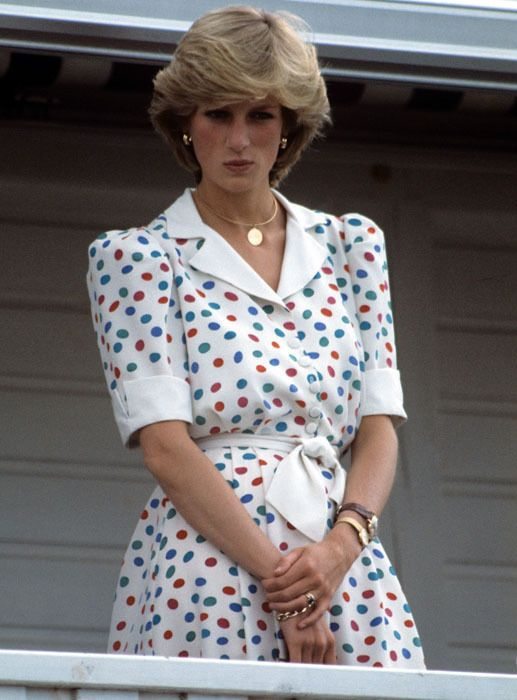Diana, Princess of Wales in pictures - The Princess at a polo match in 1983