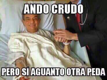 Crudo Pero Anoche Meme Wwwpicsbudcom