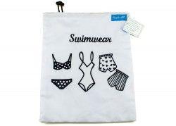 Bikini Bag Beutel zum Schwimmen mit Stickerei Swimwear von der Ringelsuse