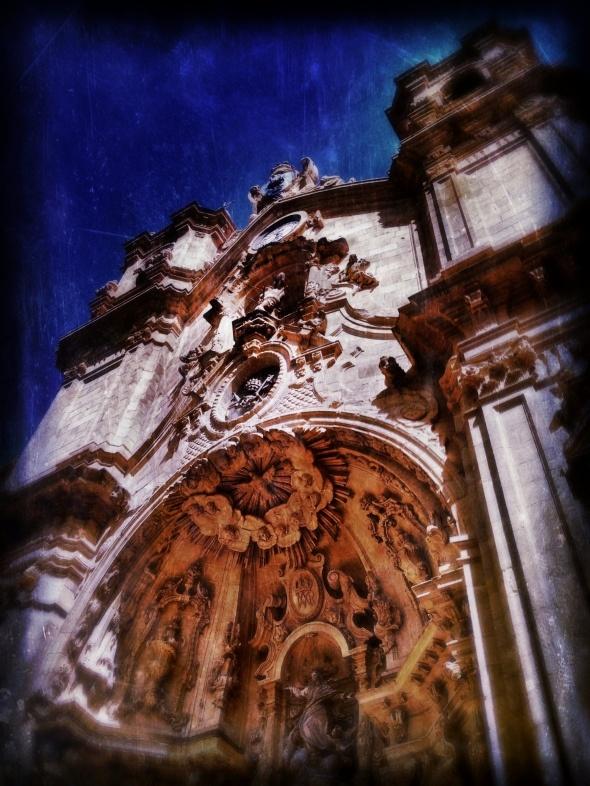 church of San Vicentein San Sebastian, Spain