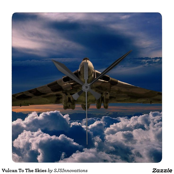 Vulcan To The Skies Square Wallclock