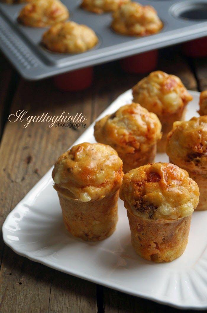 Muffins (salati) ai pomodori secchi
