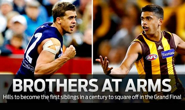 Brothers at arms. First time since 1912 brothers to be fighting against each other for the cup