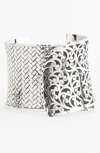 Lois Hill 'Basket Weave' Large Cuff available at #Nordstrom