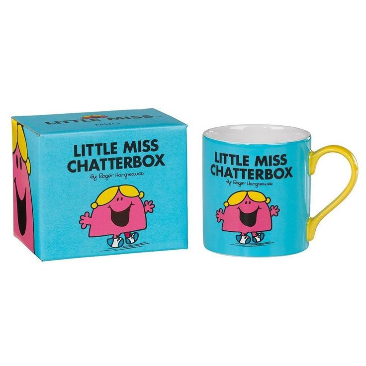 little Miss Chatterbox Mug From Wild and Wolf  #mzube #gift #cool #presents #shopping #cheap #birthday #quirky #sale #gifts   http://www.mzube.co.uk