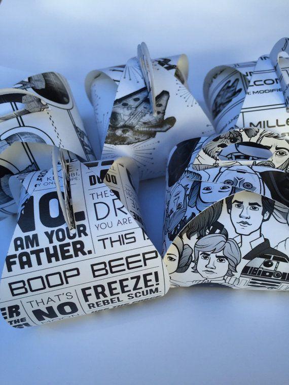 Stampin Up Star Wars party favor-star war gift star by CardsByLela